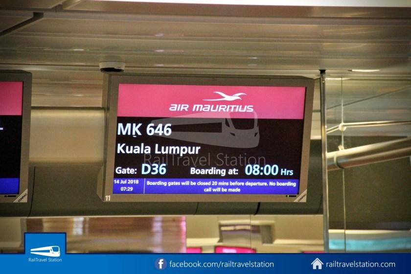 Air Mauritius MK646 SIN KUL 003