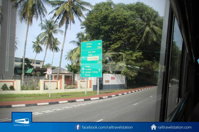 Brunei-Muara Public Bus Service 34 BSB Bus Terminal Airport 11