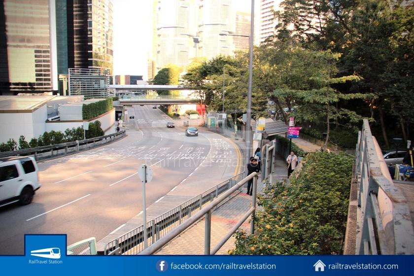 Green Minibus Route 1 HK Squash Centre The Peak 01