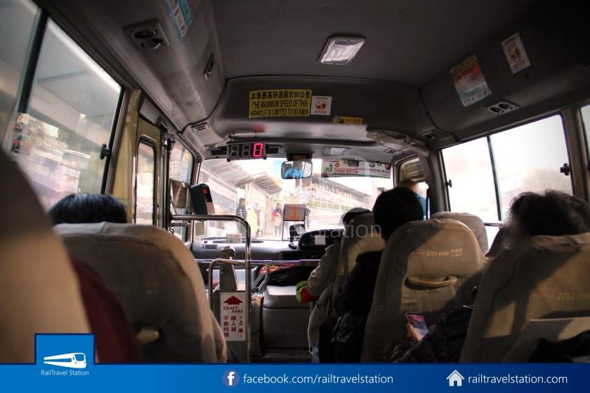 Green Minibus Route 1 HK Squash Centre The Peak 05