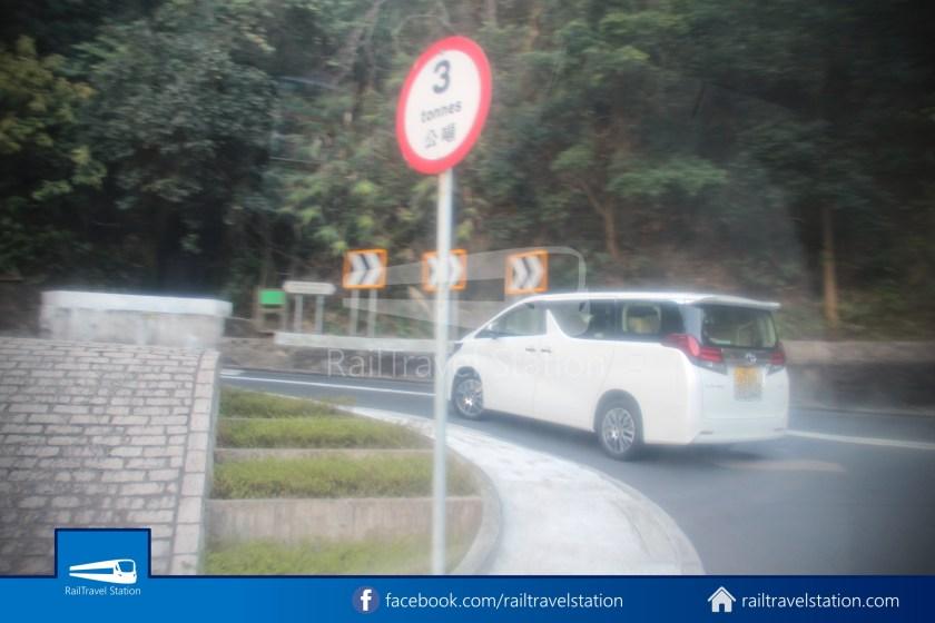 Green Minibus Route 1 HK Squash Centre The Peak 07