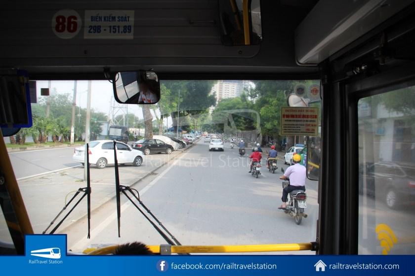 Hanoibus Airport Bus 86 Noi Bai International Airport Hanoi Railway Station 17