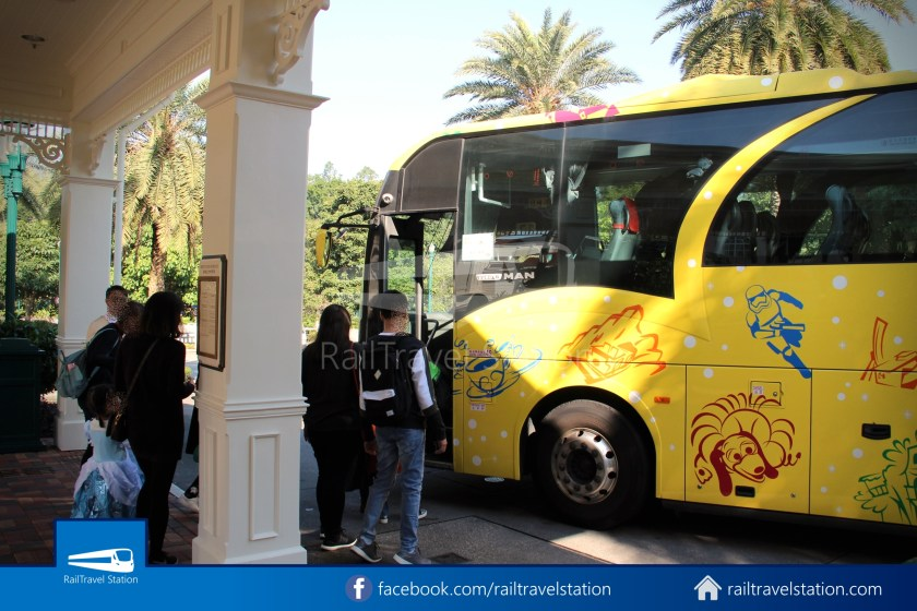 Hong Kong Disneyland Hotel Shuttle Bus 08