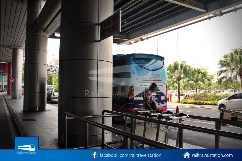 Kota Kinabalu Airport Bus KKIA Padang Merdeka 06