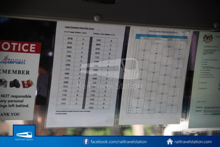 Kota Kinabalu Airport Bus Padang Merdeka KKIA 08