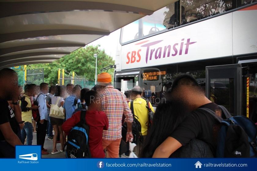 SBSTransit Service 35 Tanah Merah Ferry Terminal Tanah Merah MRT 05