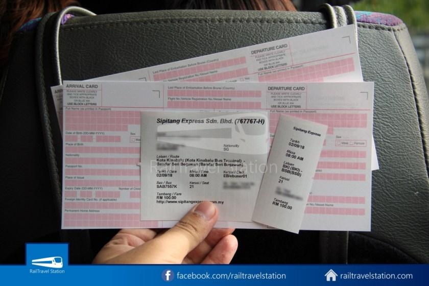 Sipitang Express Kota Kinabalu Bandar Seri Begawan 012