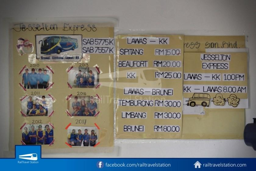 Sipitang Express Kota Kinabalu Bandar Seri Begawan 097