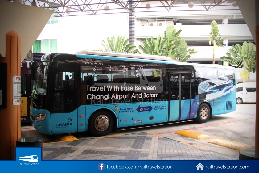 Tanah Merah Ferry Terminal Changi Airport Shuttle Bus 06
