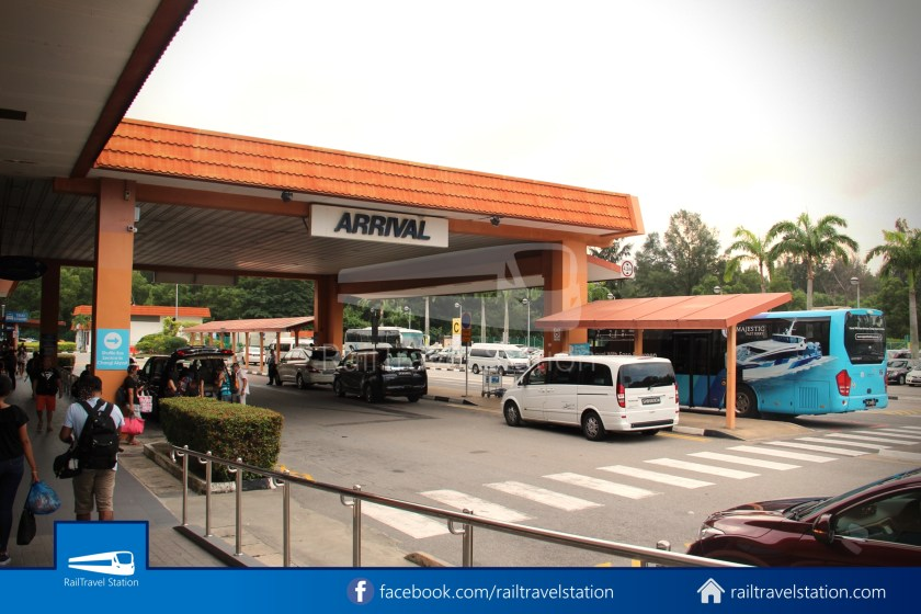 Tanah Merah Ferry Terminal Changi Airport Shuttle Bus 25