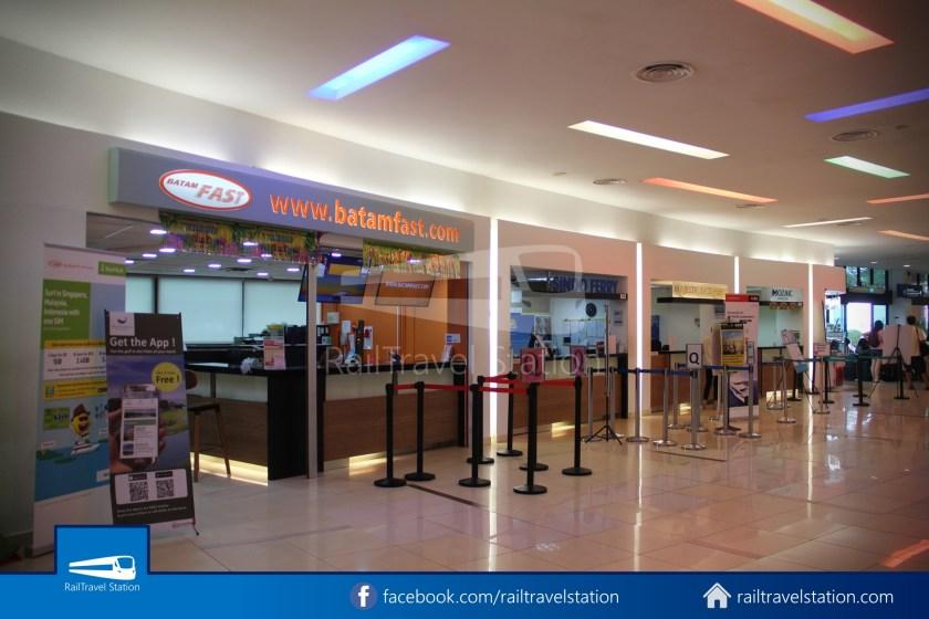 Tanah Merah Ferry Terminal Changi Airport Shuttle Bus 26