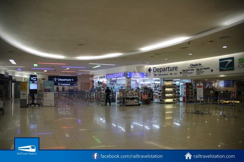 Tanah Merah Ferry Terminal Changi Airport Shuttle Bus 28