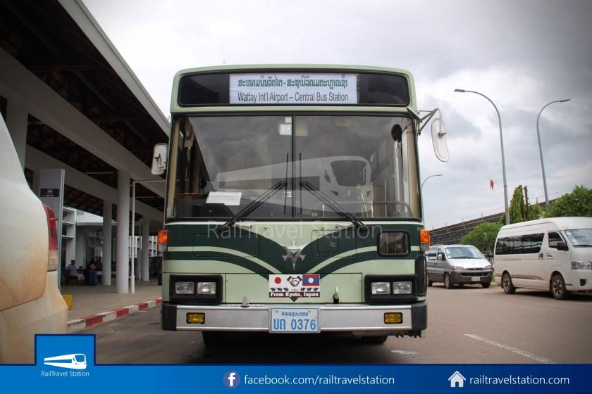 Vientiane City 2 Bus Service Airport Shuttle Airport Nam Phu 010
