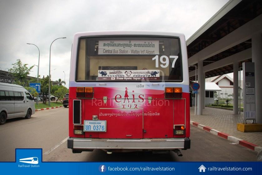 Vientiane City 2 Bus Service Airport Shuttle Airport Nam Phu 011