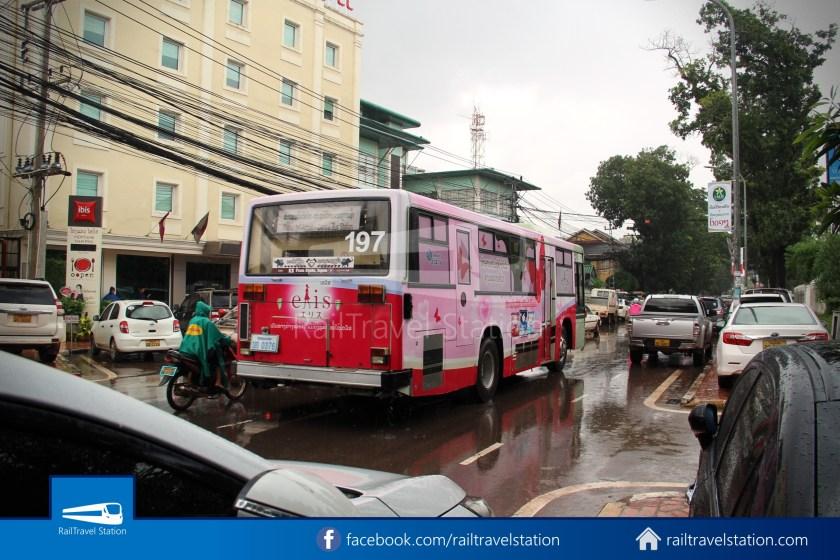 Vientiane City 2 Bus Service Airport Shuttle Airport Nam Phu 036