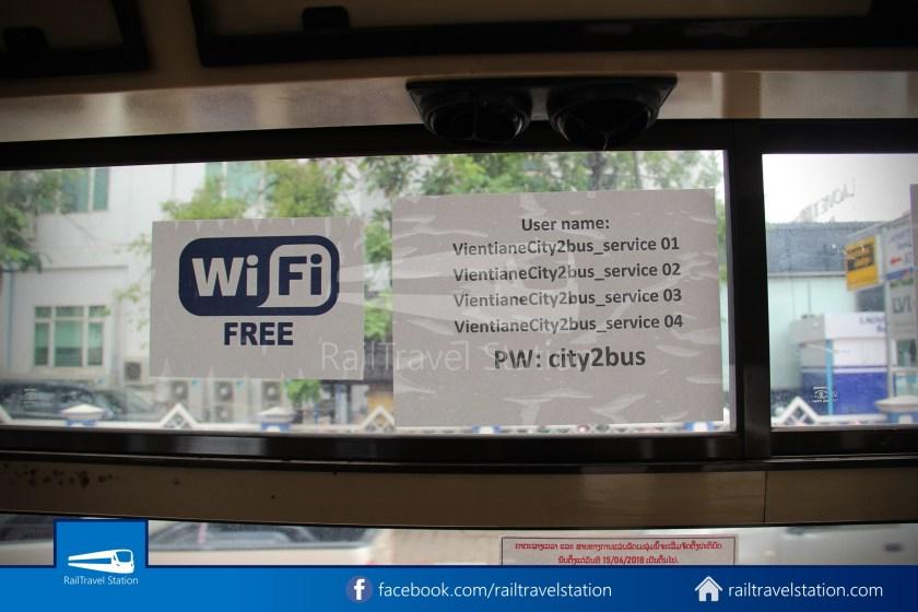 Vientiane City 2 Bus Service Airport Shuttle CBS Airport 017