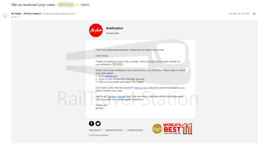 AirAsia Refund Process COVID-19 001