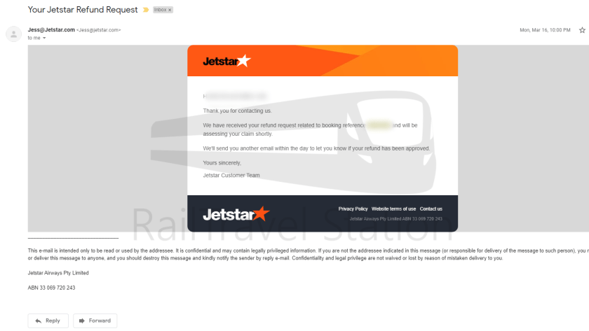 Jetstar Asia Refund Process COVID-19 001