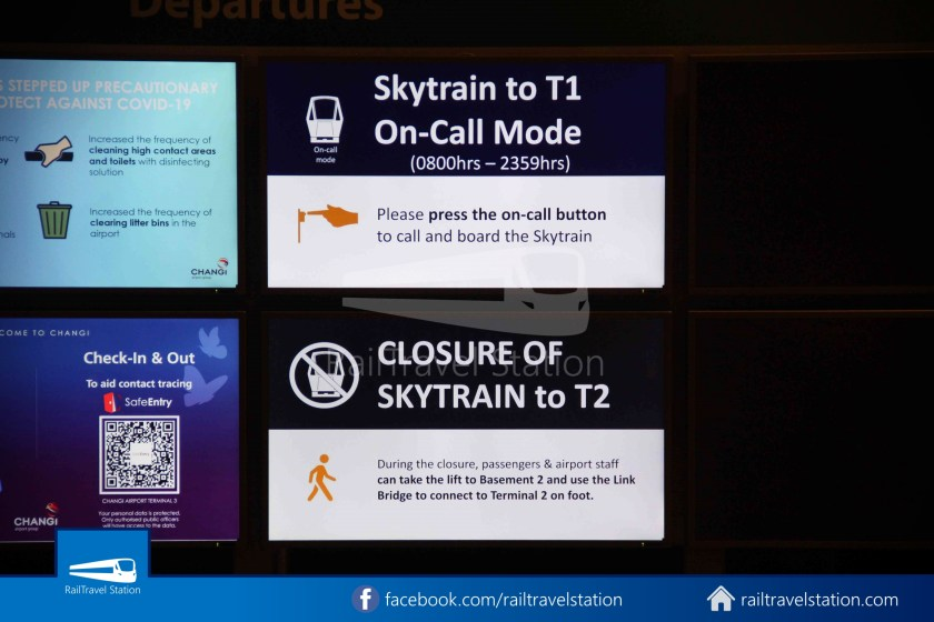 Changi Airport Skytrain Resume On Call Button 023