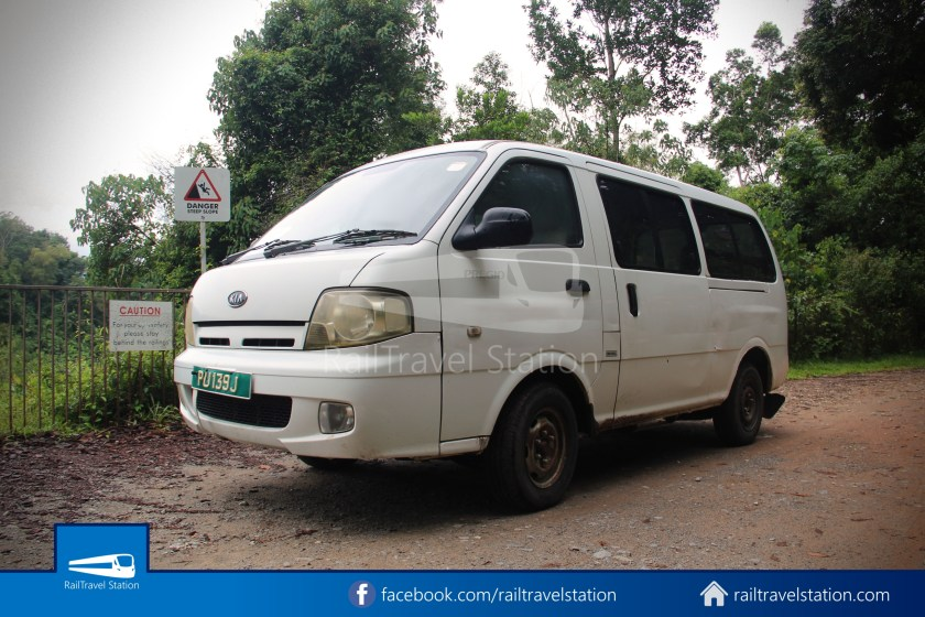 Pulau Ubin Taxi Van Chek Jawa Wetlands Main Jetty 008