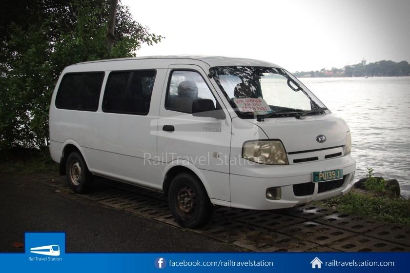 Pulau Ubin Taxi Van Main Jetty Chek Jawa Wetlands 001