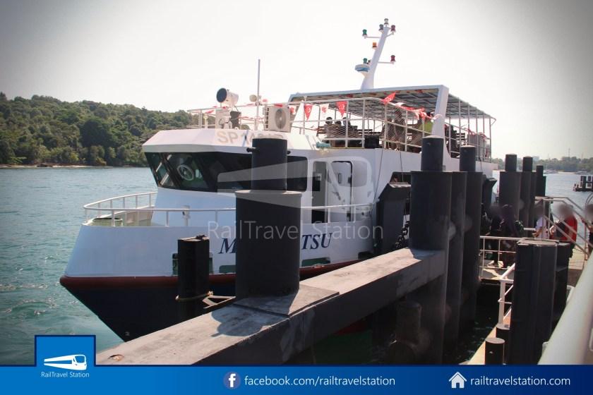 Marina South Ferries Kusu Island St John Island Marina South Pier 005