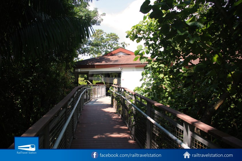 Retracing Old Sentosa Monorail 2020 Station 4 Cable Car Station 018