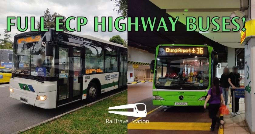 Ecp Vs Mrt Who Wins Tanjong Pagar To Changi Airport With Scheme B Bus Service 621 And Go Ahead Bus Service 36 Railtravel Station