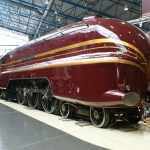 Railway blog best posts - Duchess of Hamilton at the National Railway Museum