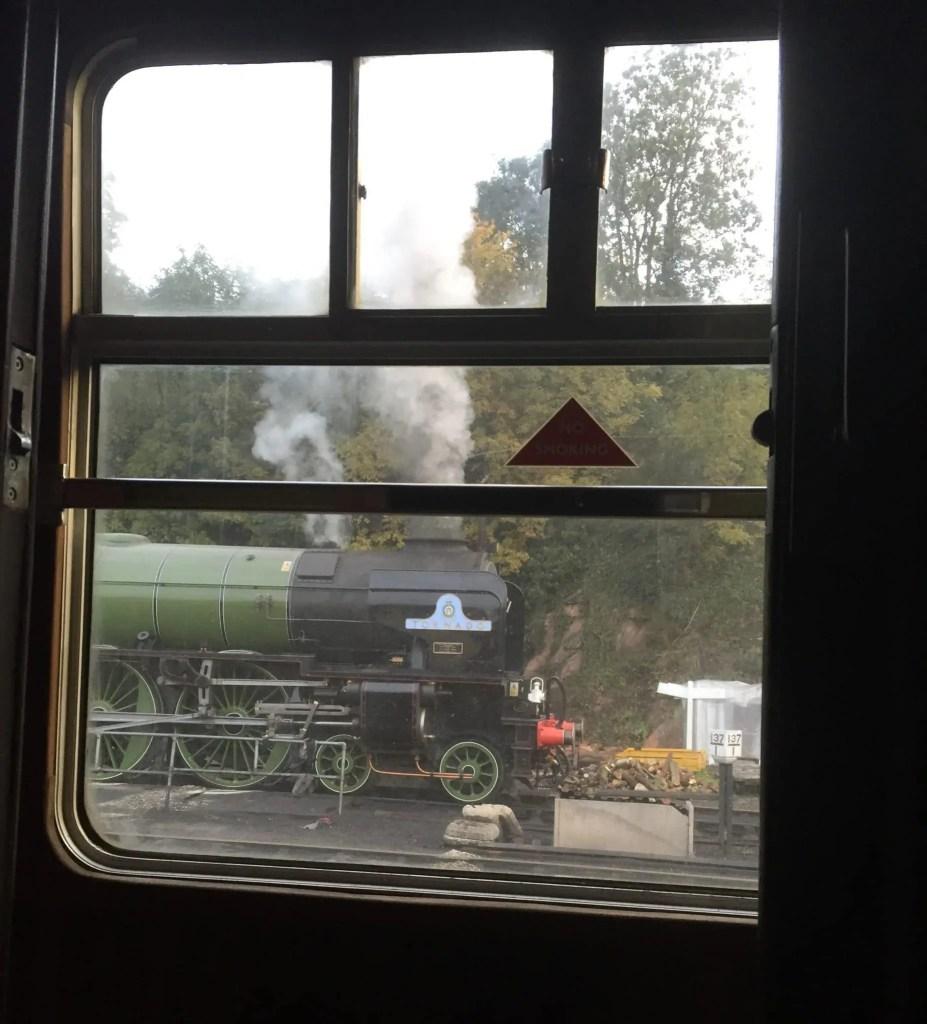 View from a window taken by a Tornado volunteer