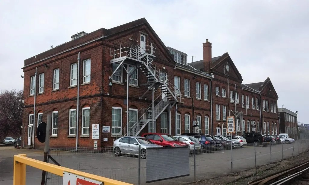 Eastleigh Works offices
