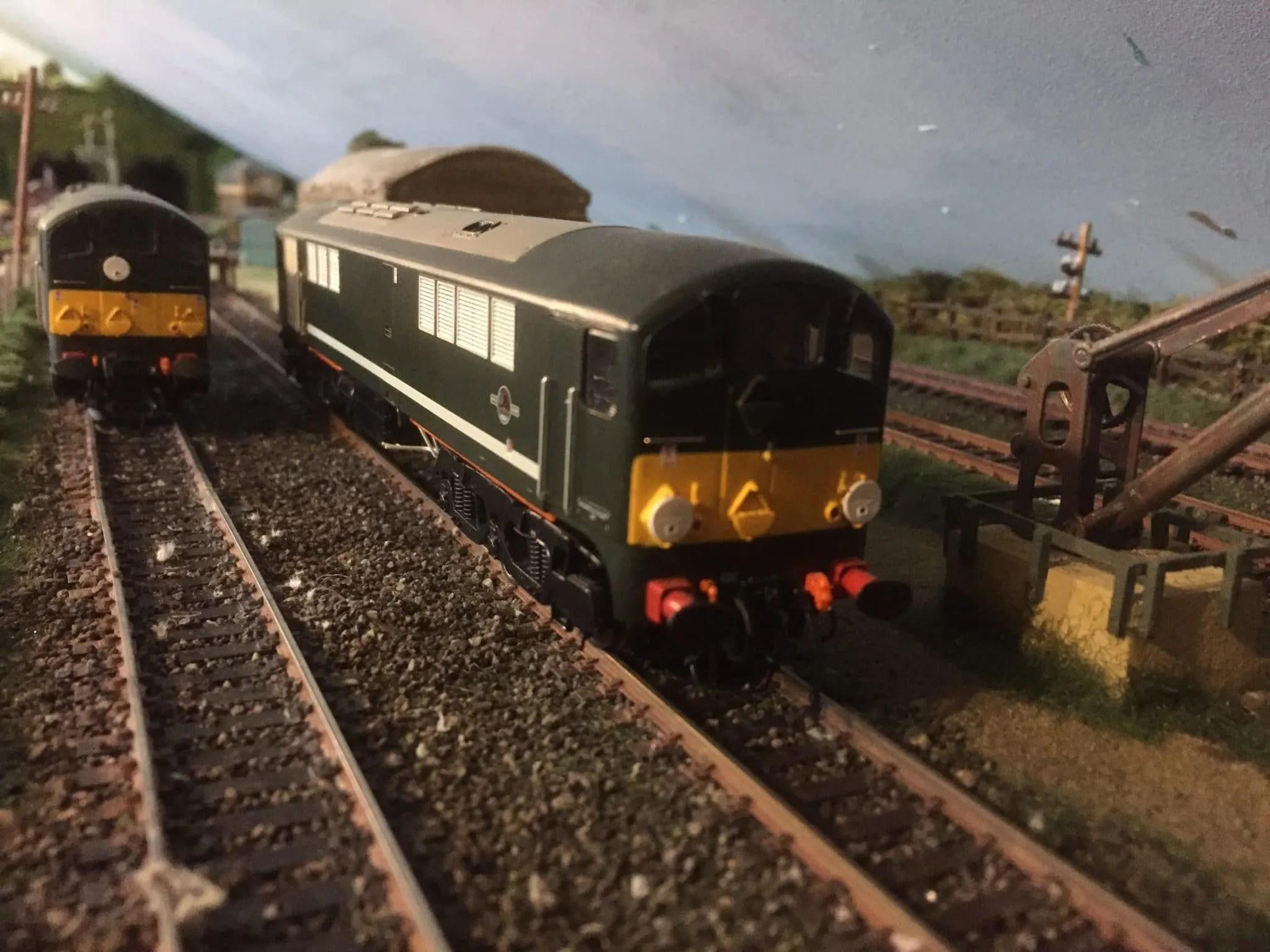 Co-Bo - class 28 - locomotives - model railway