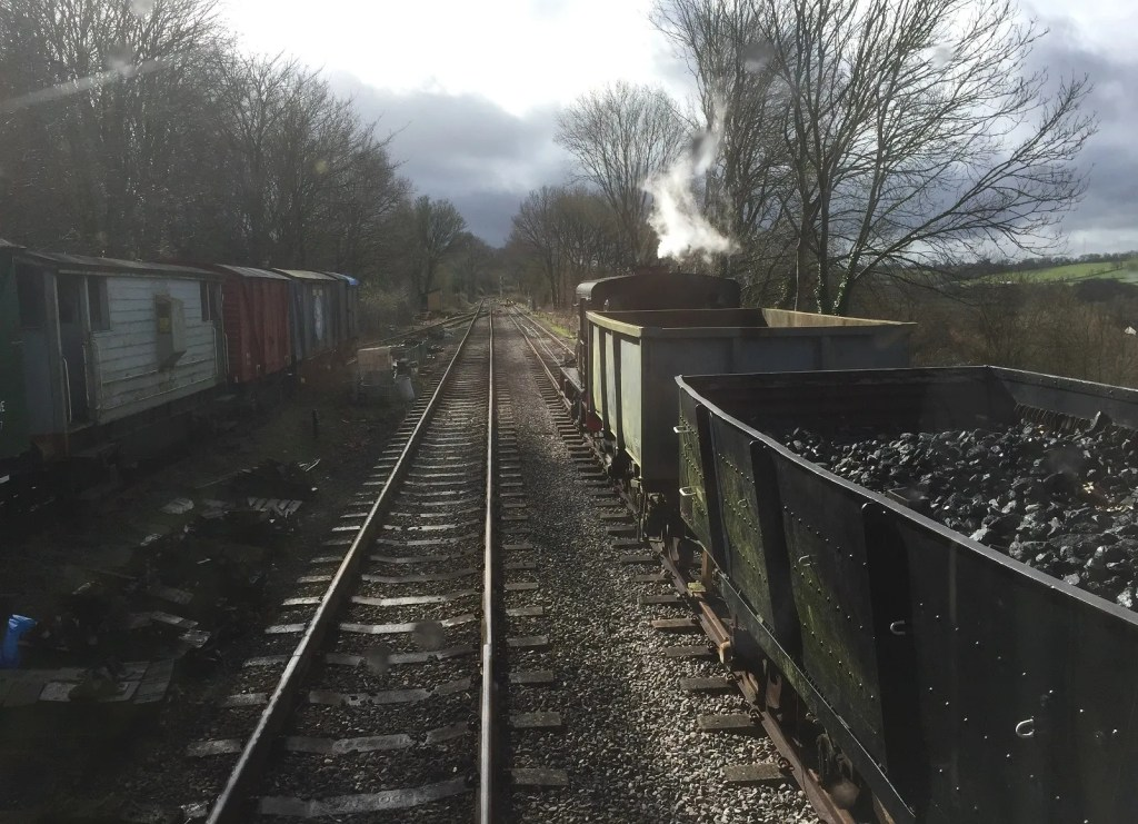 Sentinel passes Engineers Siding on S & D