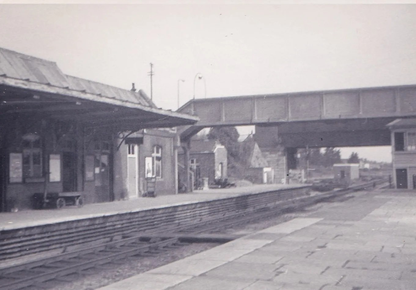 Highbridge and Burnham on Sea Station June 1971