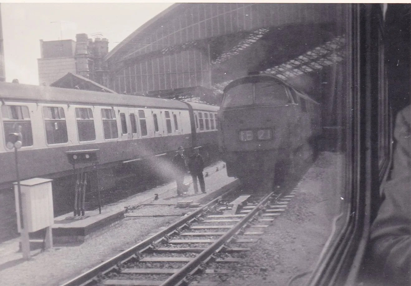 Passing through Bristol Temple Meads 29 May 1971