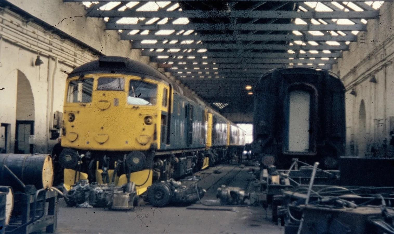 Class 26 - Inverness - diesel locomotive - railway photographs