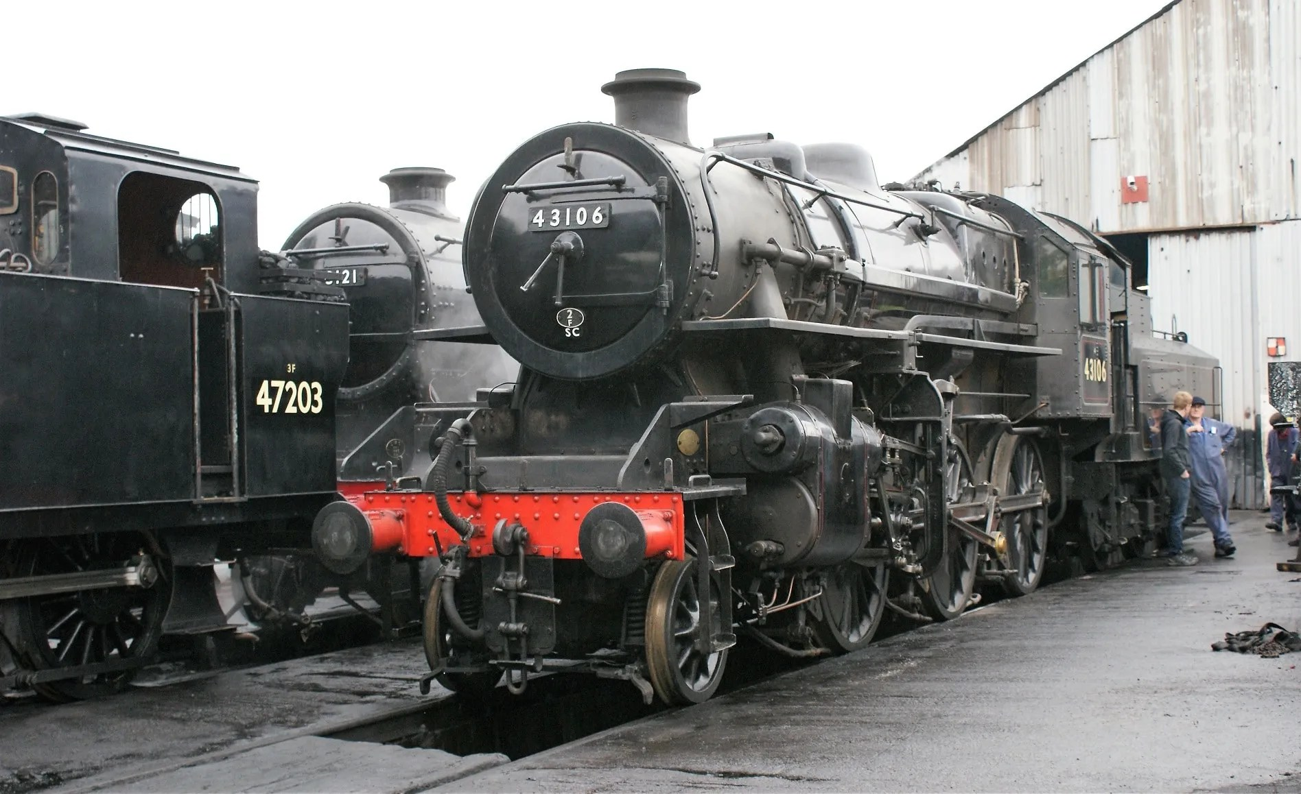 43106 - LMS Ivatt Class 4 - great central railway