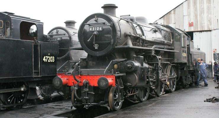 43106 - LMS Ivatt Class 4 - great central railway