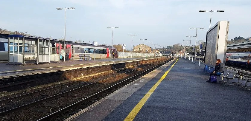 Exeter st davids - railway station