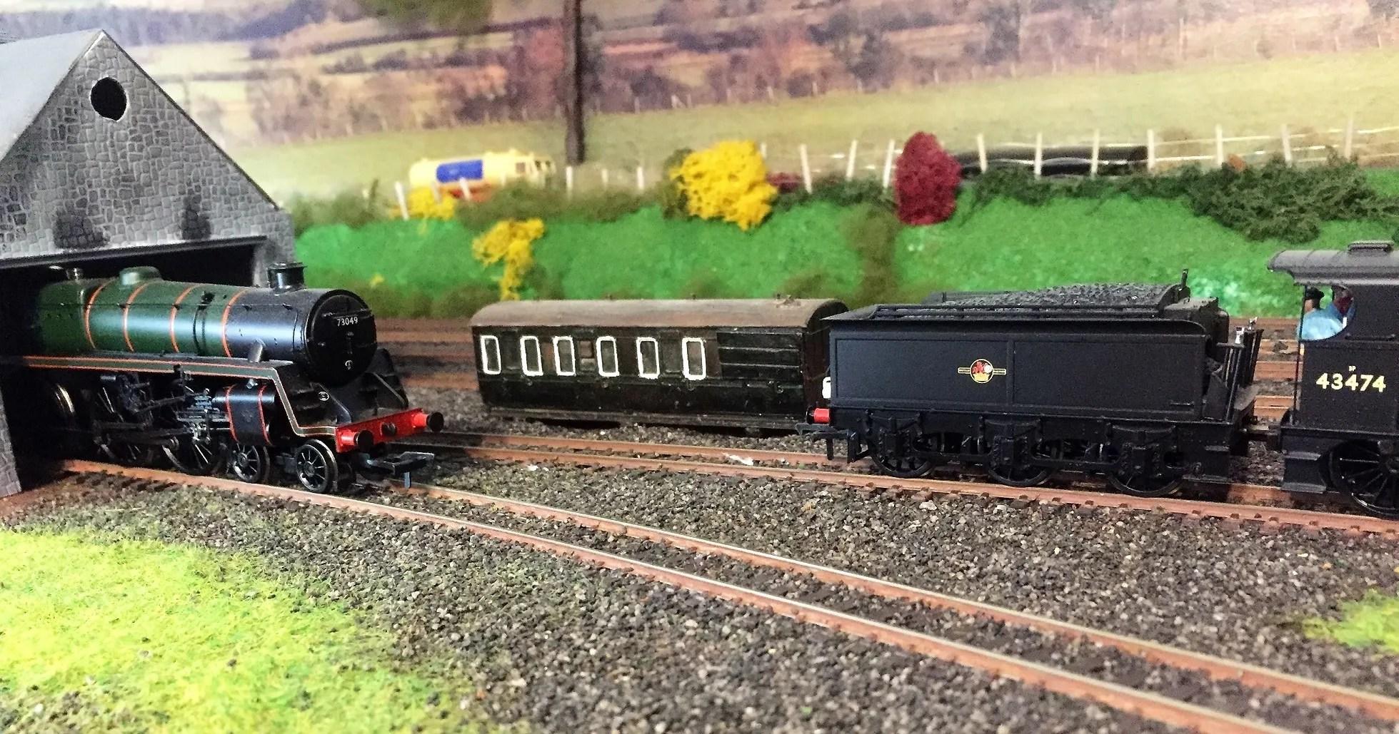 Model railway 00 gauge - Mutual Improvement class coach body