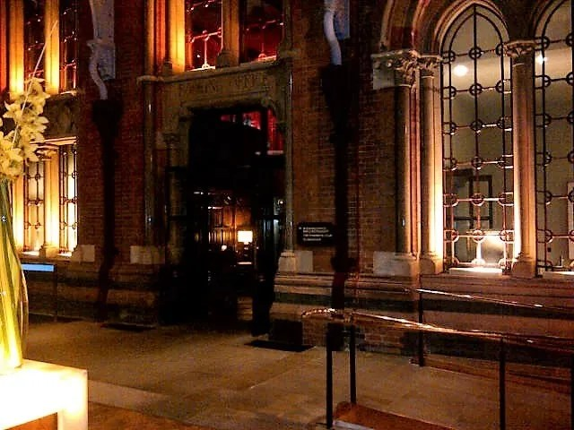Booking hall St Pancras