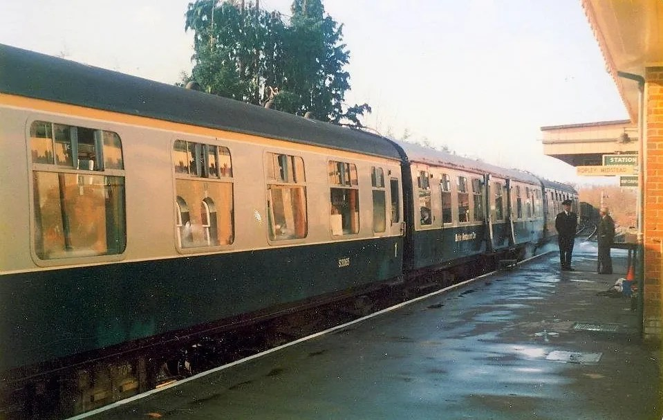 FO S3065 in the 'Watercress Belle' during the 1980's