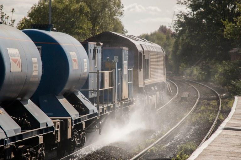 Attraktiverer Schienengüterverkehr durch moderne Sensoren