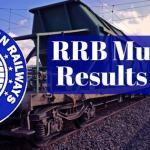RRB Mumbai Results 2017