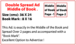 Middle Double Spread (Rs. 350,000)