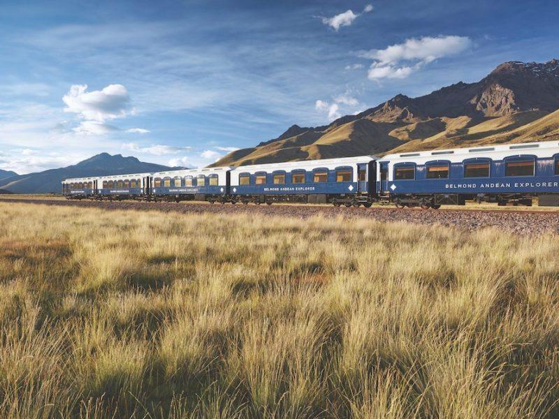 Belmond Andean Explorer train