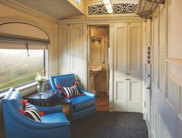 Belmond Andean Explorer suite cabin compartment