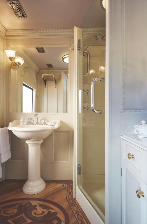 Belmond Andean Explorer cabin bathroom