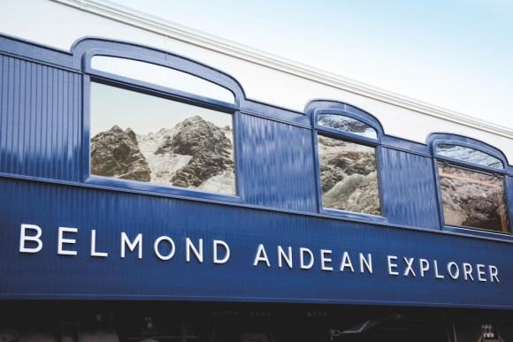 Belmond Andean Explorer livery