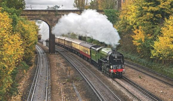 Belmond British Pullman steam train